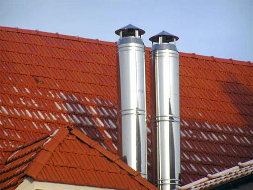 Почему стоит выбирать дымоходы из нержавеющей стали